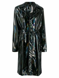 Rains belted raincoat - Black