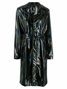 Rains belted raincoat - Black