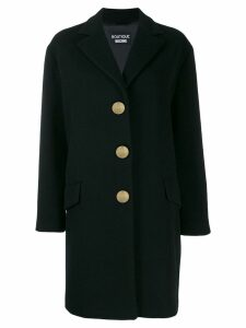 Boutique Moschino single-breasted coat - Black