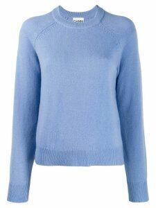 Ganni classic sweater - Blue