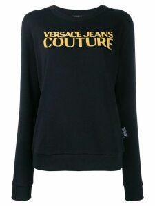Versace Jeans Couture Caviar logo sweatshirt - Black