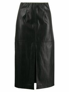 Patrizia Pepe front slit skirt - Black