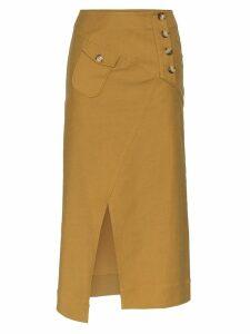 Rejina Pyo cargo midi skirt - Brown