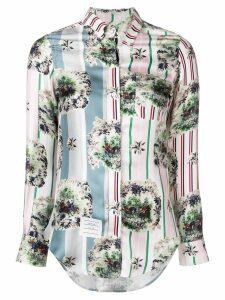 Thom Browne Fun Mix Hunting Print Shirt - Pink