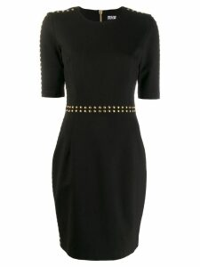 Versace Jeans Couture stud-embellished mini dress - Black