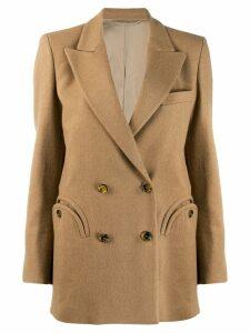 Blazé Milano double-breasted blazer - NEUTRALS