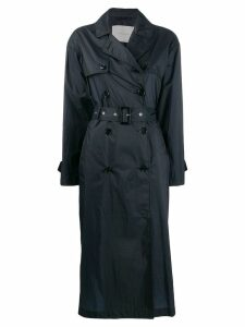 Mackintosh belted trench coat - Blue