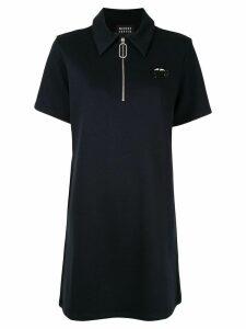 Markus Lupfer polo T-shirt dress - Blue