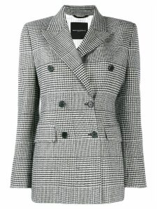 Ermanno Scervino checked blazer - White