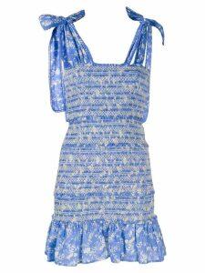 Love Shack Fancy Belle dress - Blue