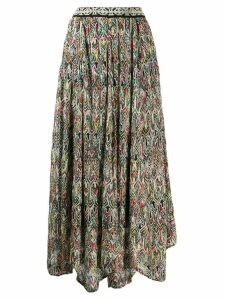 Missoni all-over print skirt - Black