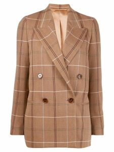 Acne Studios double-breasted masculine blazer - Brown