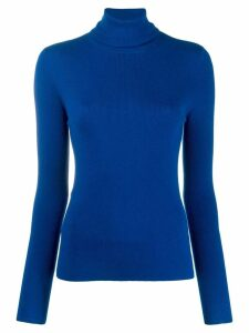 McQ Alexander McQueen roll-neck fitted sweater - Blue