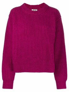 Acne Studios chunky knit jumper - Pink