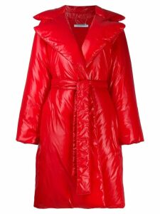 Givenchy padded belted coat - Red