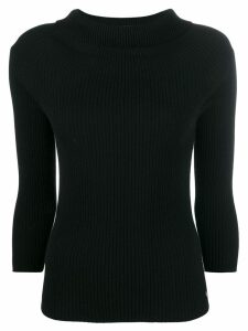 Twin-Set knitted top - Black