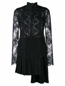 Ermanno Scervino lace cocktail dress - Black