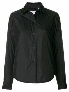 Aspesi basic shirt jacket - Black