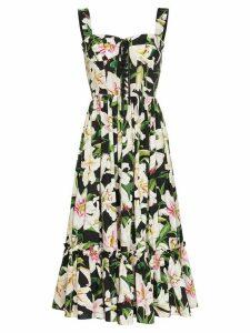 Dolce & Gabbana Lily printed midi dress - Multicolour