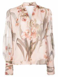 Elie Tahari floral print blouse - Pink