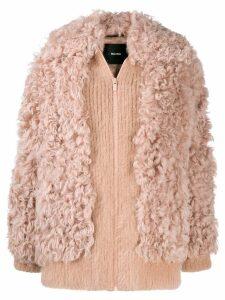 Miu Miu faux fur jacket - Pink