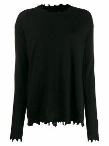 Uma Wang loose-fit cashmere jumper - Black