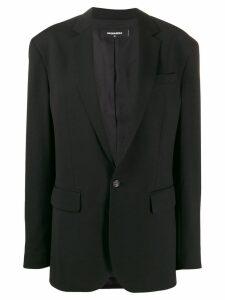 Dsquared2 oversized blazer - Black