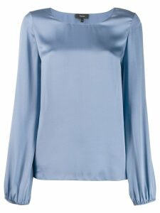 Theory satin blouse - Blue