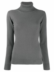 Fabiana Filippi glitter turtleneck jumper - Grey