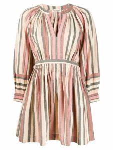 Ulla Johnson short striped dress - Pink