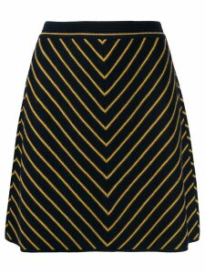 Missoni striped knit skirt - Blue