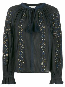 Ulla Johnson tassel detail blouse - Black