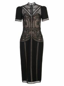 Zuhair Murad Enkei lace midi dress - Black
