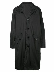 Opening Ceremony logo trench coat - Black
