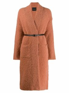 Roberto Collina textured coat - Neutrals