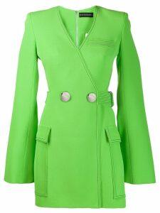 David Koma cut-out blazer dress - Green