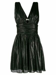 Saint Laurent flared short dress - Black