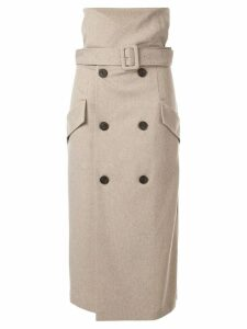 CAMILLA AND MARC Dawn trench skirt - Grey