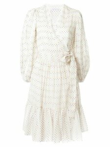 Rachel Gilbert Loni wrap dress - White