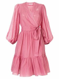 Rachel Gilbert Loni wrap dress - Pink
