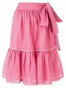 Rachel Gilbert Loni ruffle skirt - Pink