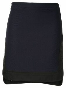Nº21 high-waist fitted skirt - Blue