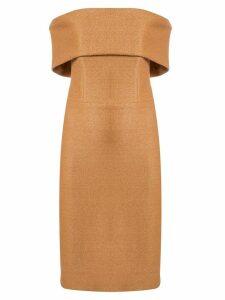 Manning Cartell bardot dress - Brown