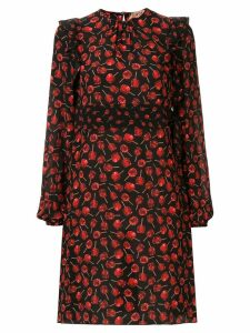 Nº21 candy apple print dress - Black