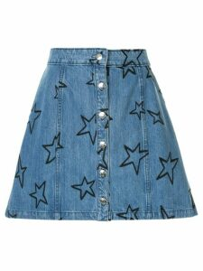 Être Cécile all-over star skirt - Blue