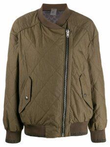 Coach zipped bomber jacket - Green