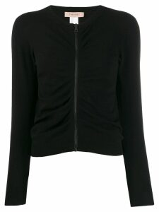 Twin-Set zipped up jumper - Black