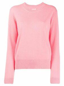 Zadig & Voltaire round neck sweater - Pink