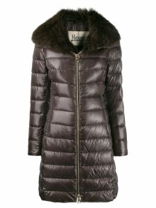 Herno fur lined padded coat - Brown