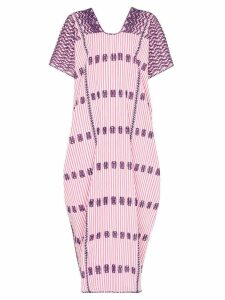 Pippa Holt striped maxi kaftan dress - Purple